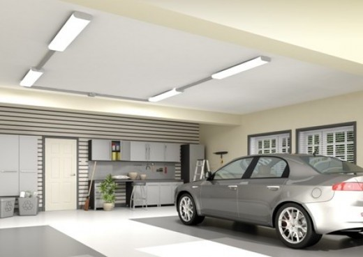 Led Lighting Fixtures For The Garage