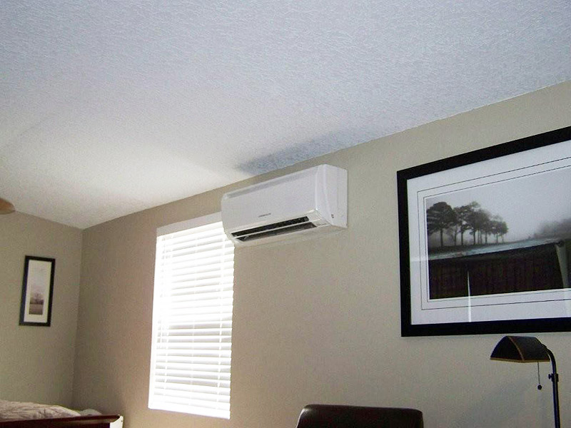 Mitsubishi Ductless Split Zoning Air Conditioning. Noted Small Bedroom Air  Conditioner Stunning Ac Unit Pictures Home